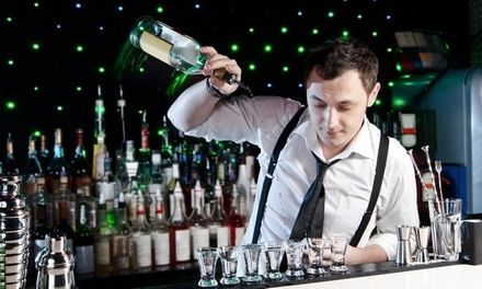 $99 for a Two-Day Bartending Certification PE and a Flair Course ($345 Value)