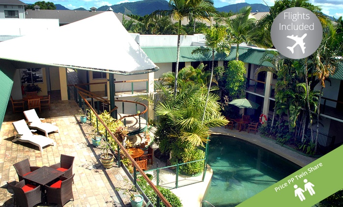 Great Barrier Reef, Cairns: From $419 Per Person for a 4N Queensland Stay with Flights and Breakfast at Bay Village