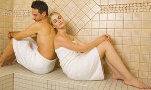 Sas Hostellerie de la Vieille Ferme: Un accès spa avec hammam, sauna et jacuzzi pour 2 personnes à 19,90 € à l'Hostellerie de la Vieille Ferme