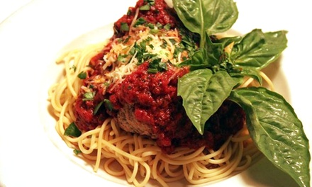 Italian Dinner with Dessert for Two or Four at Loose Noodle Pasta House (Up to 42% Off)
