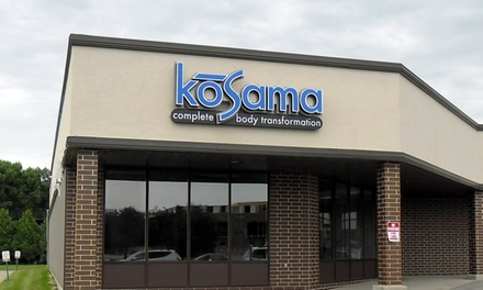 Four Weeks of Membership and Unlimited Fitness Classes at Kosama Complete Body Transformation (65% Off)