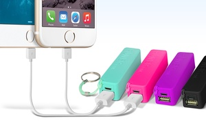 Aduro Powerup 2,000mah Portable Backup Batteries; 1, 2, Or 3