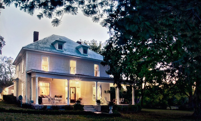 Green Haven Creek - 2: One-Night Stay in a Room or a Two-Room Suite with Breakfast at Green Haven Creek in Fayetteville (Up to 57% Off)