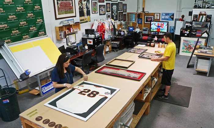 Sports Gallery Authenticated - Mountain View: Custom Framing Services (Up to 51% Off)