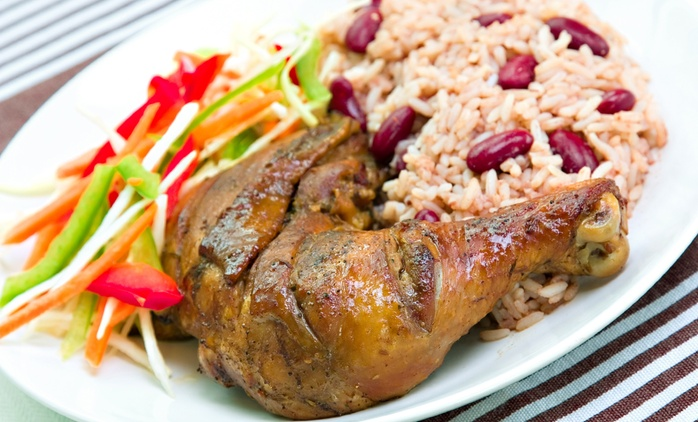 Reggie's Caribbean Cuisine: Two or Three Courses For Two (from £10.95) or Four (from £18.95) People