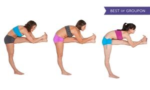 Bikram Yoga San Jose: 10 or 20 Classes or Six Months of Unlimited Classes at Bikram Yoga San Jose (Up to 78% Off)