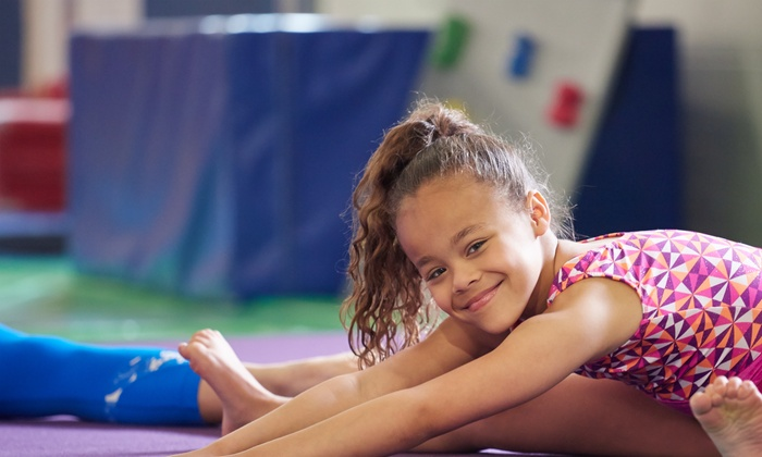 Blue Ribbon Rythmics - Multiple Locations: Four Weeks of Gymnastics Classes at Blue Ribbon Rythmics (54% Off)