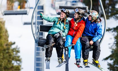 image for Lift Tickets with Optional Ski or Snowboard Rental for 1 or 2 at Sipapu Ski and Summer Resort (Up to 51% Off)
