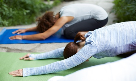 Six-Class Introduction to Yoga Series or One Month of Unlimited Yoga Classes at Yogabliss (Up to 40% Off)