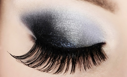 Full Set of Eyelash Extensions with Option for One or Three Refills at Ruby at Janie & Co. (58% Off)