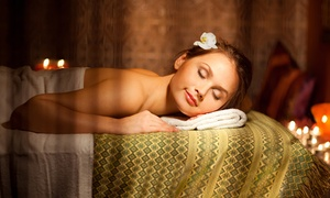 Up to 44% Off Full-Body Massage at Blush and Glow Day Spa and Salon, plus 9.0% Cash Back from Ebates.