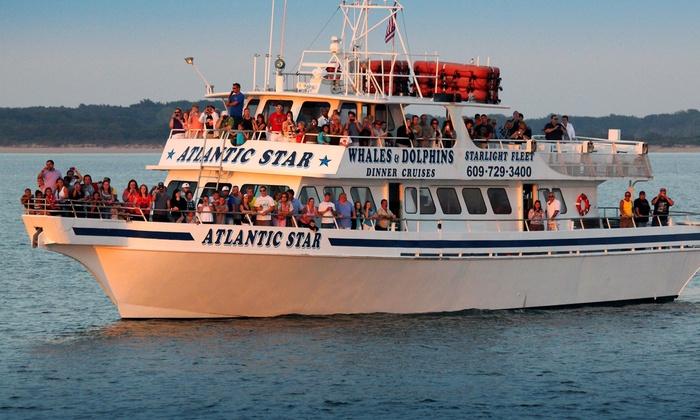 Starlight Fleet - The Starlight Fleet: 2.5-Hour Sunset-Buffet Dolphin-Watching Cruise for Two or Four from Starlight Fleet (50% Off)