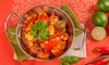 The Saffron - Bedford: Three-Course Indian Meal with Vegetable Sides for Up to Six People at The Saffron (Up to 53% Off)