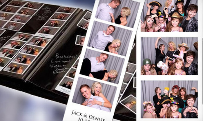 Booth Crazy - Kansas City: $450 for a 3.5-Hour Photo-Booth Rental Package from Booth Crazy (Up to $915 Value)
