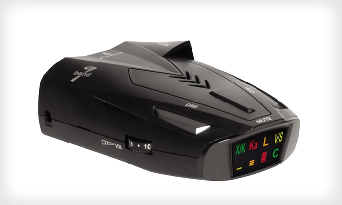 Cobra SSR 80 Radar/Laser Detector with UltraBright Data Display: $30 for a Cobra SSR 80 Radar/Laser Detector with UltraBright Display ($69.95 List Price). Free Shipping and Returns.