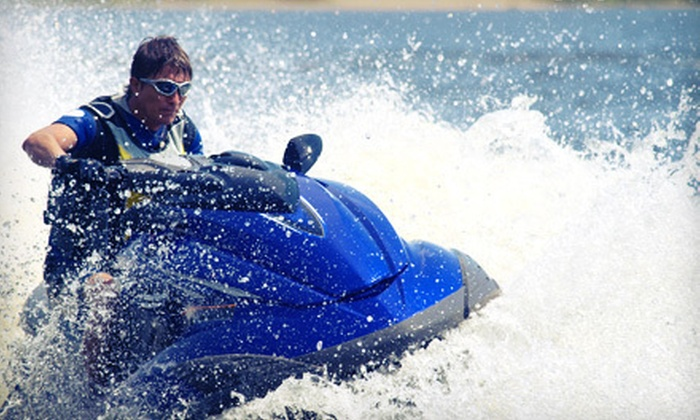 Seaforth Boat Rentals - Multiple Locations: $99 for Two-Hour WaveRunner Tour of the La Jolla Coastline from Seaforth Boat Rentals (Up to $249 Value)