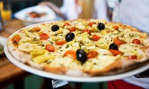Dobre Smaki: Dwie dowolnie wybrane pizze o średnicy 32 cm za 29,99 zł i więcej opcji w restauracji Dobre Smaki (do -43%)