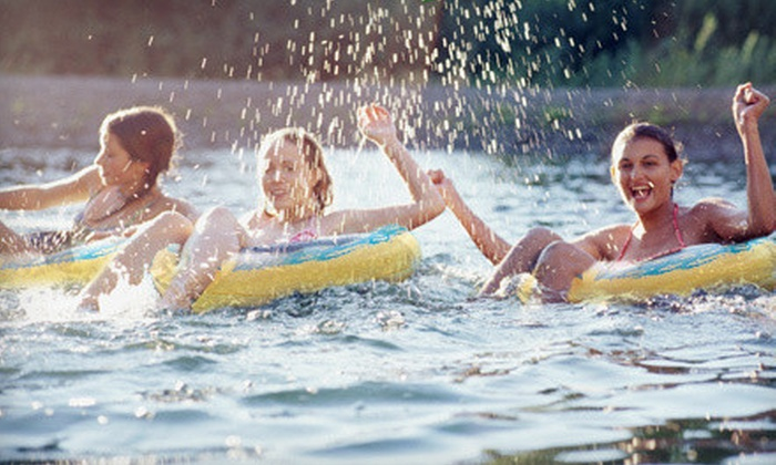 Wahoo's Adventures - Blowing Rock: $35 for All-Day River Tubing for Two with Additional Tube for Cooler from Wahoo's Adventures in Elizabethton ($75 Value)