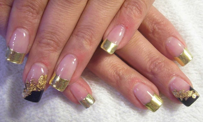 Sky Nails & Spa - Greater Greenspoint: A Manicure with Nail Design from Sky Nails & Spa (47% Off)