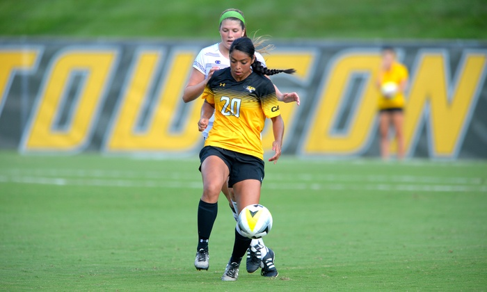 Top 100 Soccer Camps - Towson University Soccer Field: One Week of Soccer Day Camp for a Boy or Girl with Lunch at Towson University (20% Off)