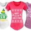 Ladies' Maternity Christmas Tees