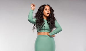 Christette Michele: Chrisette Michele on Saturday, February 20, at 7:30 p.m.