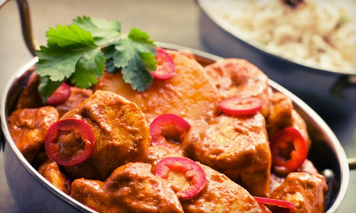 Bombay Clay Oven - Cherry Creek: $15 for $30 Worth of Indian Cuisine and Drinks at Bombay Clay Oven