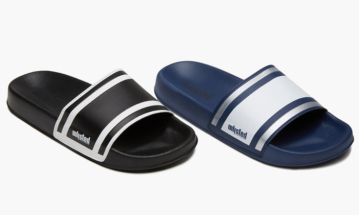 1dd6ac5a6cf3 Unlisted by Kenneth Cole Men s Slip-on Form Sandals (Sizes 10   11 ...