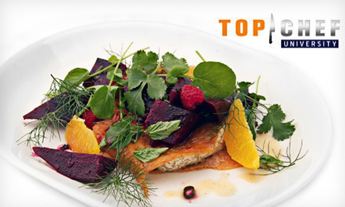 Top Chef University: $49 for a 12-Month Membership to Top Chef University Online Cooking Classes ($199.95 Value)