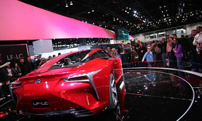 Chicago Auto Show - Downtown: Weekday Chicago Auto Show Outing with Optional Food-Court Credit (Up to Half Off)