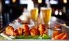 Shark Club-OLD ACCOUNT, See Shark Club Waterford - Waterford: Pub-Style Appetizers, Entrees, and Craft Beer at Shark Club (30% Off). Two Options Available.