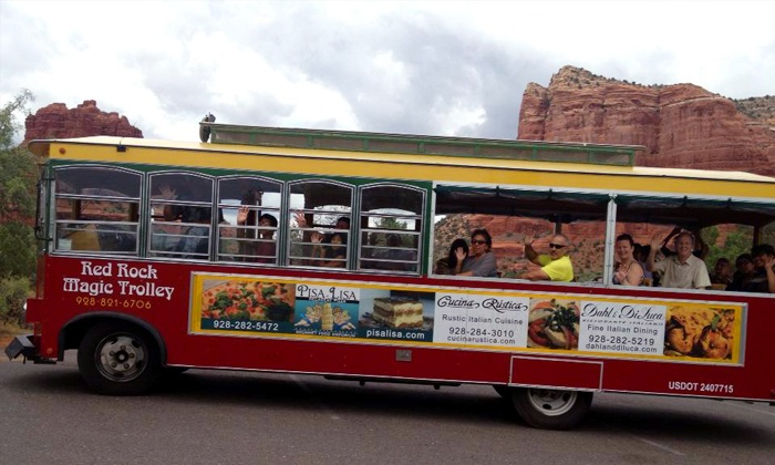 Red Rock Magic Trolley - Sedona: 85-Minute Trolley Tour Through Sedona for Two or Four from Red Rock Magic Trolley (Up to 46% Off)