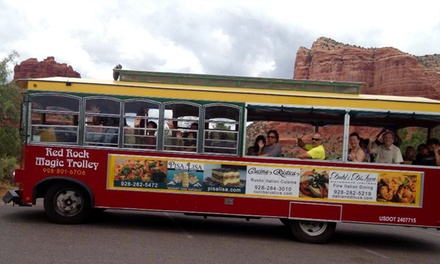 85-Minute Trolley Tour Through Sedona for Two or Four from Red Rock Magic Trolley (Up to 51% Off)