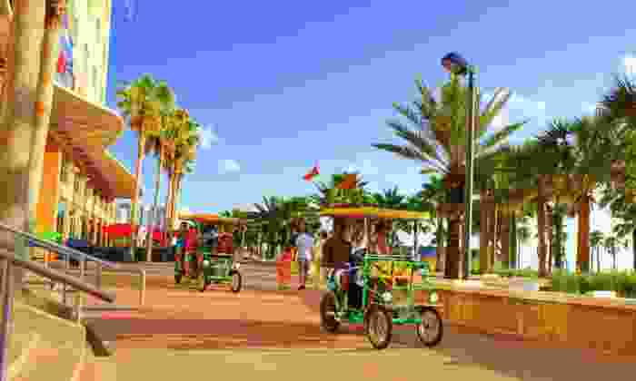 Wheel Fun Rentals - New Orleans: $15 for $32 Worth of Bike and Watersports Equipment Rentals at Wheel Fun Rentals