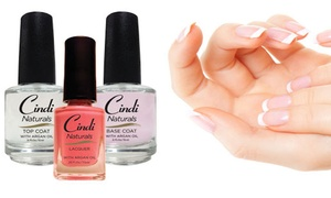 Cindi Naturals: One or Two Organic In-Home Manicure Sets from Cindi Naturals (38% Off)