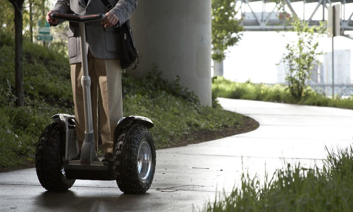 Cleveland Segway Tours - Tower City Center: 60-Minute Downtown Cleveland Segway Tour for One, Two, or Five from Electric Transport (Up to 50% Off)