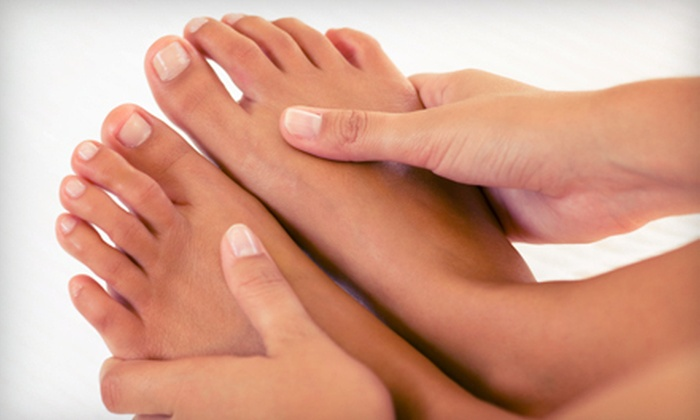 Running With Scissors Salon - West Campus: One Basic or Spa Mani-Pedi or Three Basic Pedicures at Running With Scissors Salon in Fort Collins (Up to 52% Off)