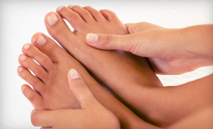 Basic Mani-Pedi ($50 value) - Running With Scissors Salon in Fort Collins