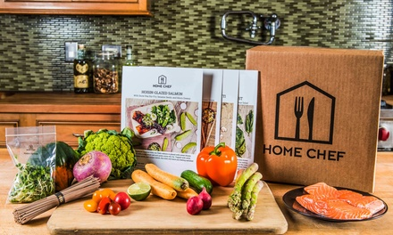 One or Two Weeks of Meals for Two or Four People from Home Chef (Up to 54% Off)