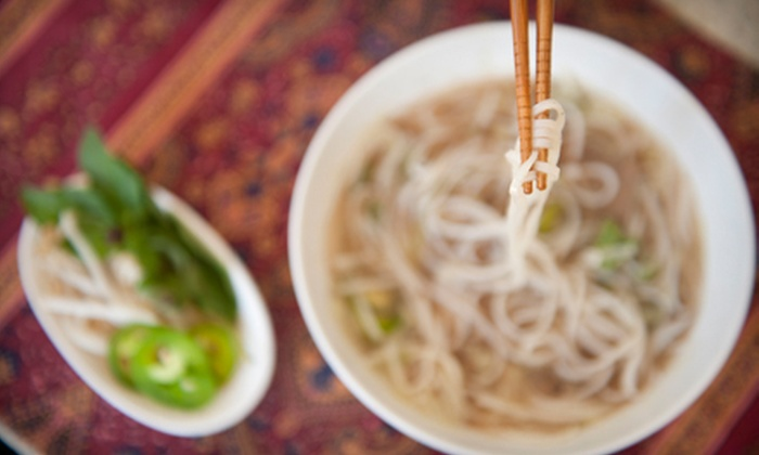 Pho and Japanese Steak House - Northeast Raleigh: Japanese Food for Lunch or Dinner at Pho and Japanese Steak House (Half Off)