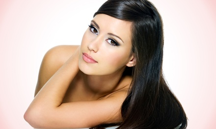 Haircut with Option of Half Highlights, or a Keratin Smoothing Treatment at Salon Azano (Up to 64% Off)