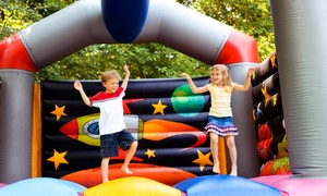 Bounce House: Unlimited Monthly Pass, or Four All-Day Play Passes with Sodas and Chips at Bounce House (Up to 92% Off)