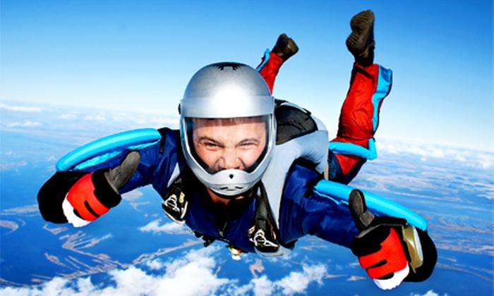 Skydive Monroe - Monroe: $99 for One Solo Skydiving Jump at Skydive Monroe ($165 Value)