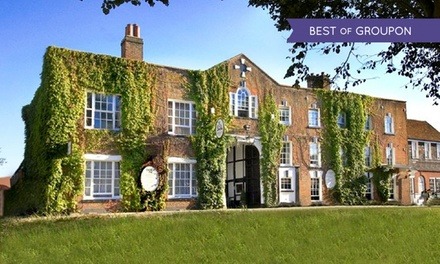 Surrey: 1 or 2 Nights for Two with Breakfast and Option for Afternoon Tea or Dinner at The Talbot Hotel Ripley