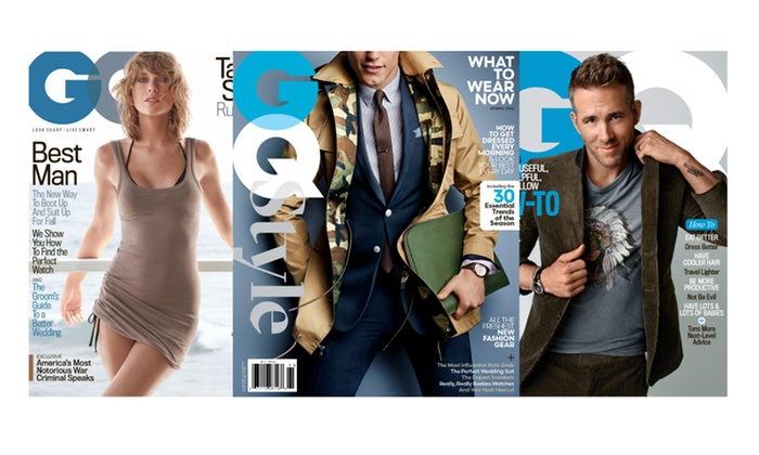 1bf30648f9b86 43% Off Subscription to GQ and Spring 2016 Issue of GQ Style