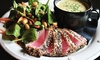 Chocopologie Cafe - South Norwalk: Continental Appetizers, Entrees, Desserts, and Wine for Two or Four at Chocopologie Cafe (Up to 42% Off)