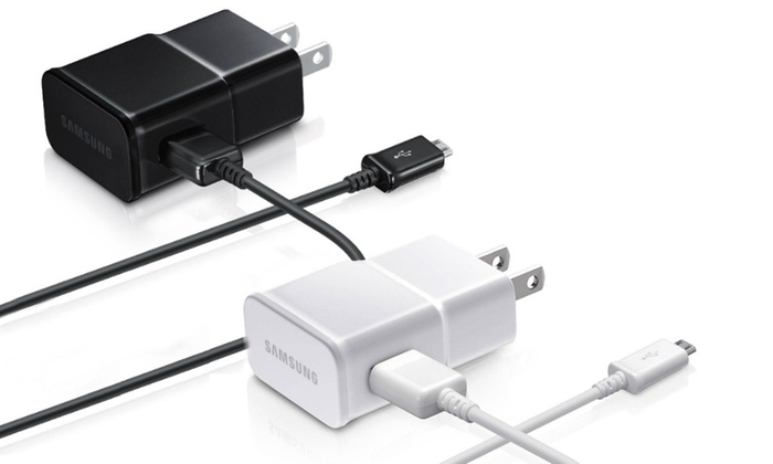 Samsung Travel Wall Charger with MicroUSB Cable (1 or 2)