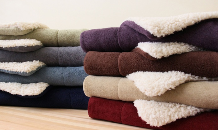Luxor Linens Majestic Sherpa Blankets: Luxor Linens Majestic Sherpa Blankets. Multiple Sizes and Colors Available. Free Returns.