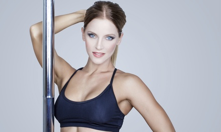Pole Principles Class, 10 or 20 Class Credits, or Pole-Dancing Party at Lush Pole Fitness (Up to 81% Off)