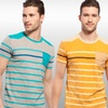 X-Ray Jeans Men's Striped T-Shirts